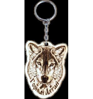 Брелок Волк №5