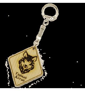 Брелок Волк №3