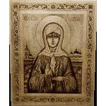 Икона большая Святая Матрона с полями