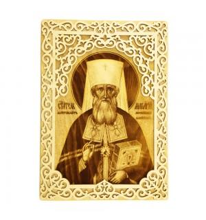 Икона с окладом Святитель Макарий