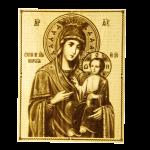 """Икона малая  Божией матери """"Иверская"""""""