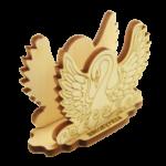 Салфетница Лебедь