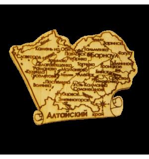 """Карта """"Алтайский край"""" большая"""