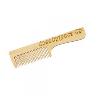 расческа с ручкой частый  зуб