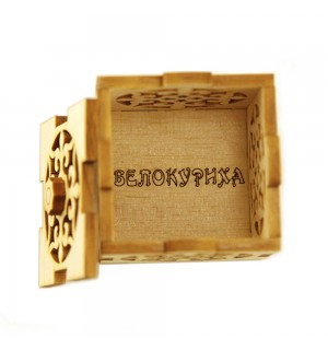 шкатулка  кубик