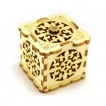 шкатулка  куб резной